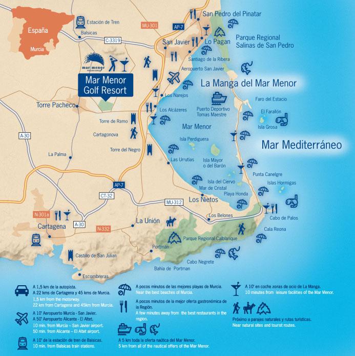 Camping A La Manga Espagne: Mar Menor Golf Resort Bank Repossessions
